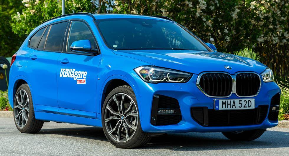 BMW överraskar med lång bromssträcka