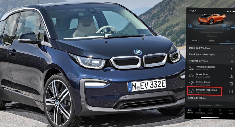 """BMW i3-ägare varnas för """"utsläppstest"""" av elbilen"""