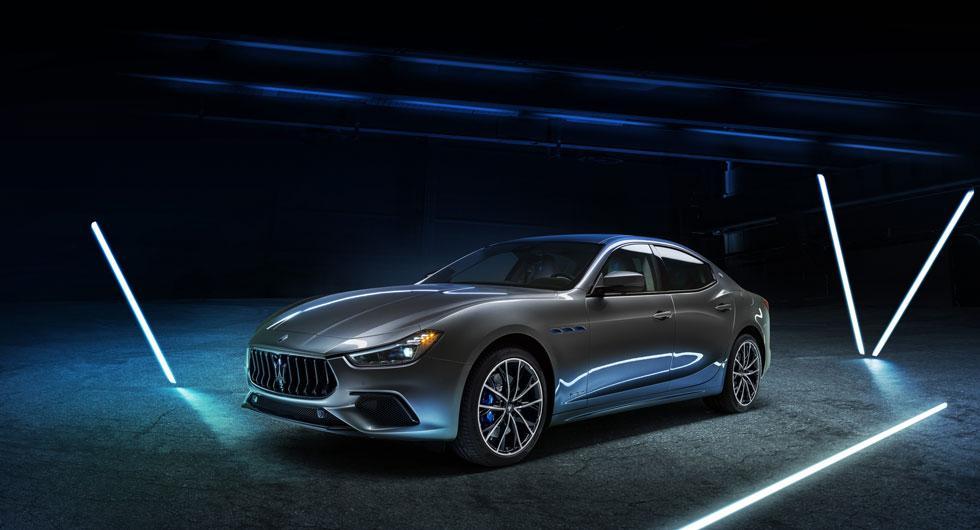 Maserati Ghibli blir mildhybrid