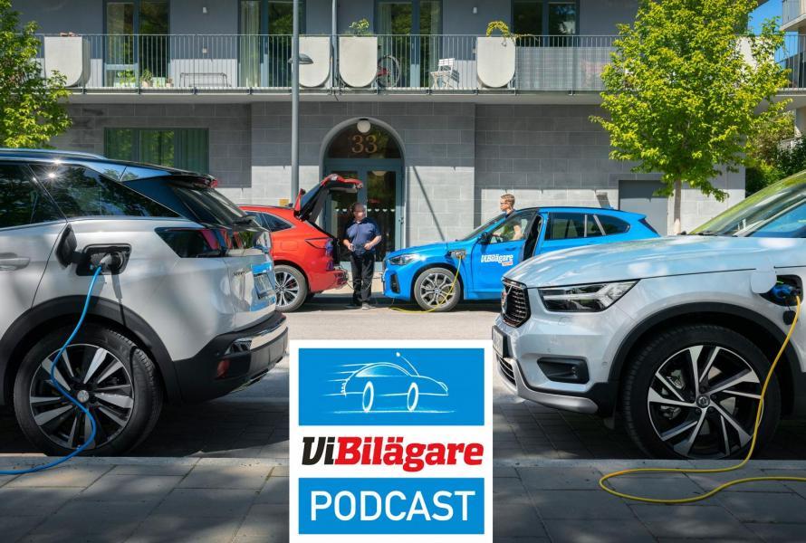 Test av laddhybridsuvar och varning för skatteskurkar när du köper bil privat!