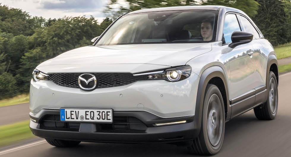 """Mazda försvarar korta räckvidden i elbilen: """"Rightsizing"""""""