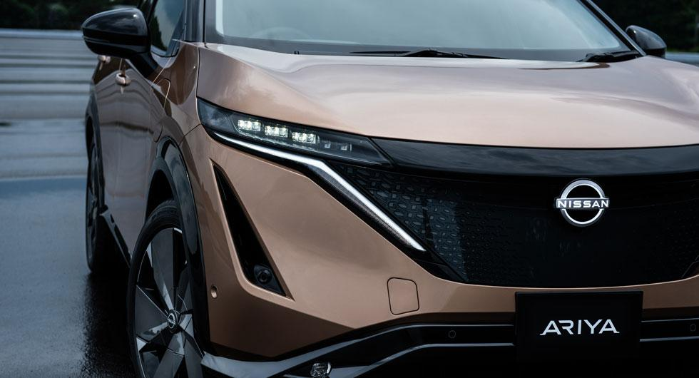 Världspremiär för elbilen Nissan Ariya