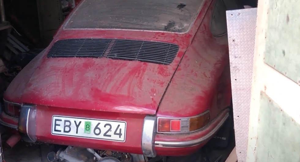 Drömfynd i garaget: Här är Porschen som stått i 40 år
