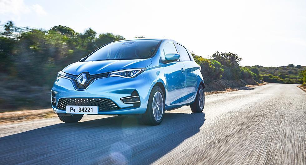 Renault Zoe är Europas populäraste elbil