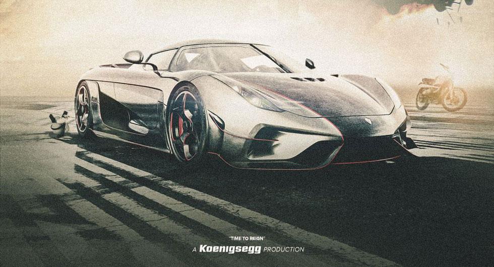 Koenigsegg släpper actionpackad kortfilm