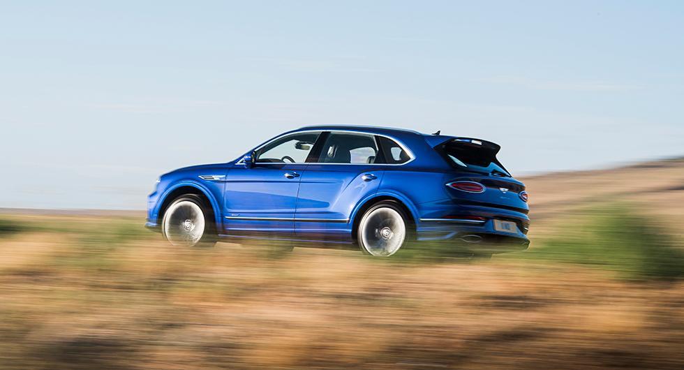 Bentayga Speed fortfarande snabbaste suven enligt Bentley
