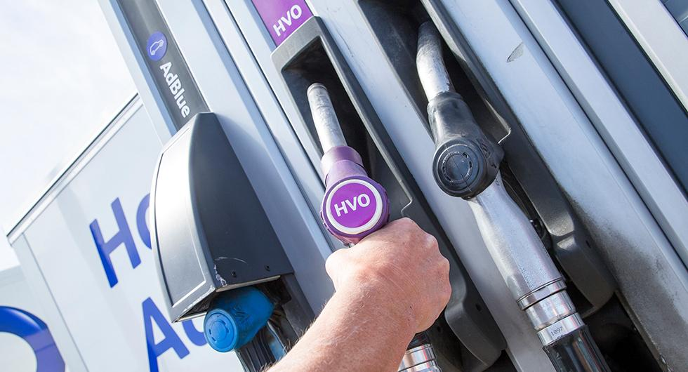 Bilfrågan: HVO100 och utsläppsreducering