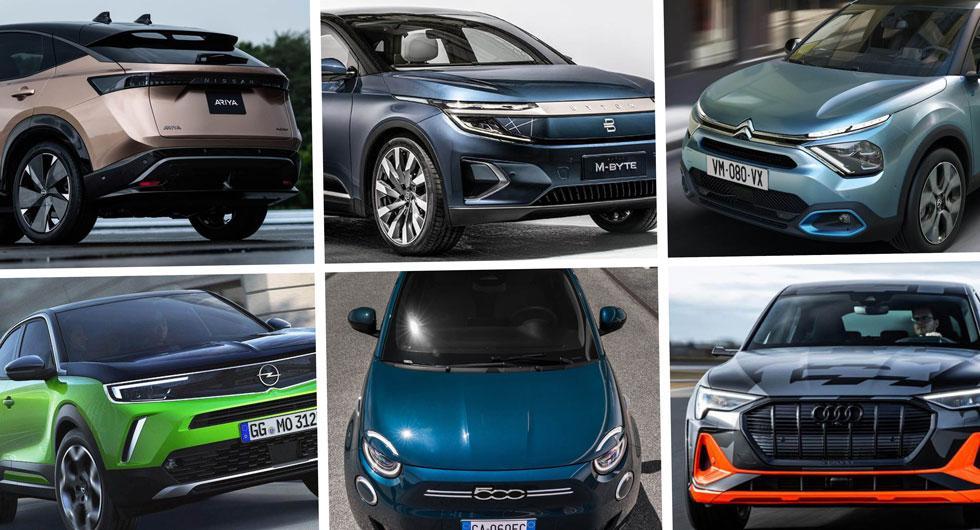 Nya elbilar 2020: Här är årets viktigaste modeller