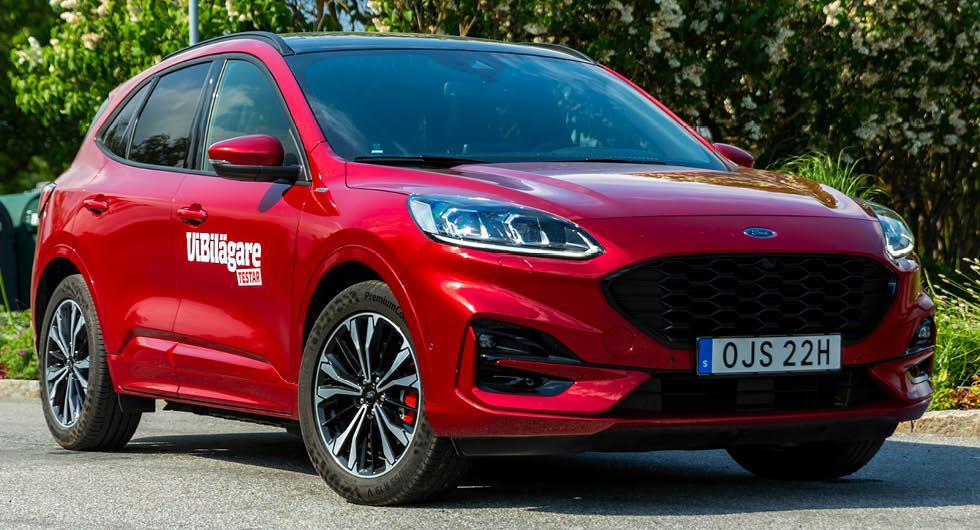 Ford Kuga Plug-in Hybrid stoppas – fyra bilbränder bekräftade