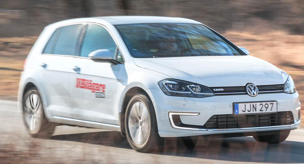Högtryck för elbilar: Nu får Volkswagen e-Golf leva vidare