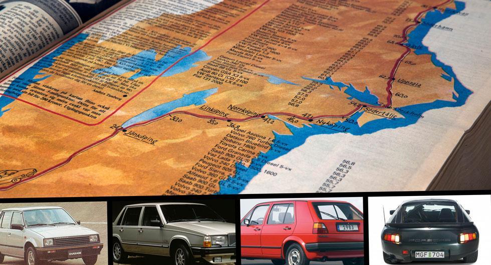"""Testbilen som kom över 80 mil för en """"tvåhundring"""""""