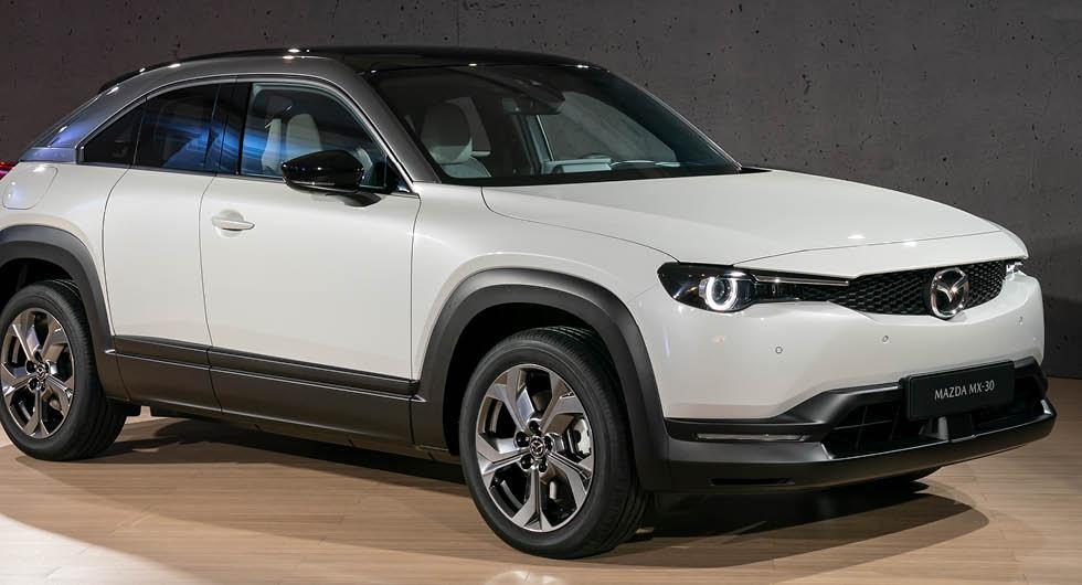 Mazdas elbil MX-30 får bensinmotor och mildhybridteknik