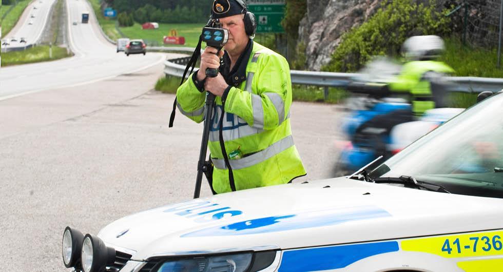 """Polisens hastighetsvecka igång: """"Alla har ett ansvar"""""""
