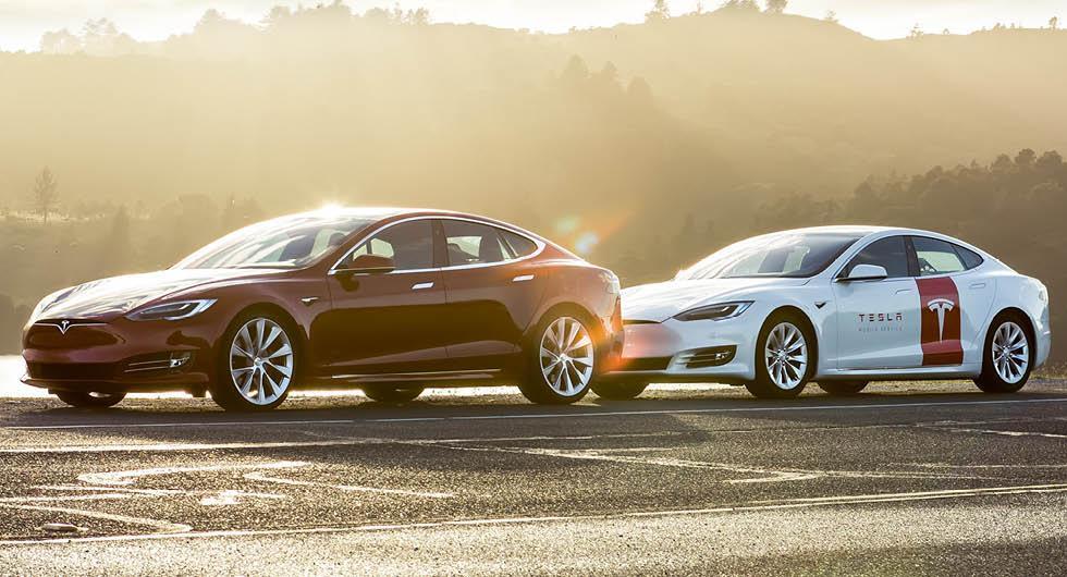 Tesla utökar mobil service och öppnar nytt servicecenter