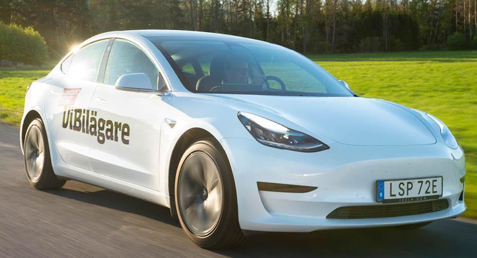 Tesla Model 3 som semesterbil: Både toppar och floppar