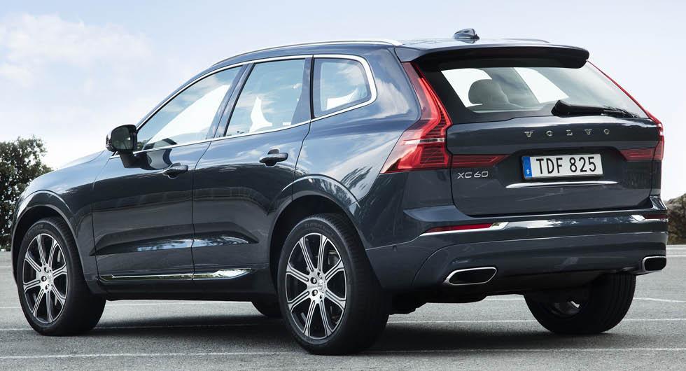 Volvo XC60 och XC90 får beröm i krocktest – men inte för strålkastarna