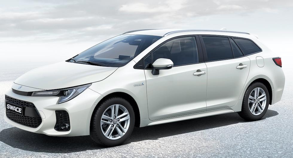 Suzuki Swace är en Toyota Corolla med annat märke