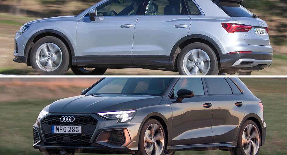 Bekräftat: Audi A3, Q3 och Q8 kommer som laddhybrider