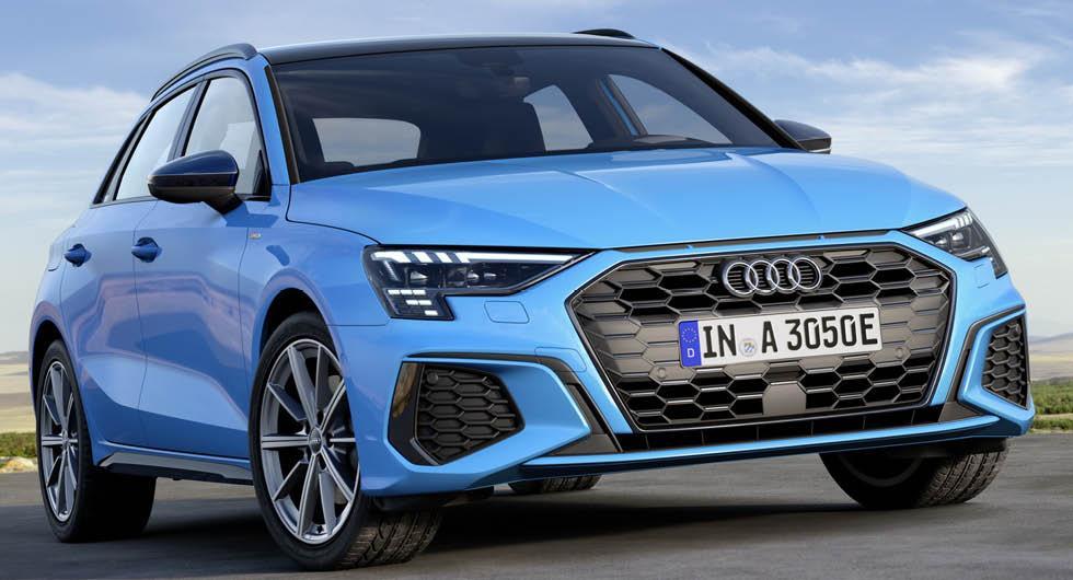 Officiell: Audi A3 Sportback 40 TFSI e är nya laddhybriden