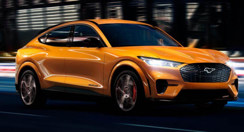 Ford Mustang Mach-E GT kommer till Europa – så snabb blir prestandasuven