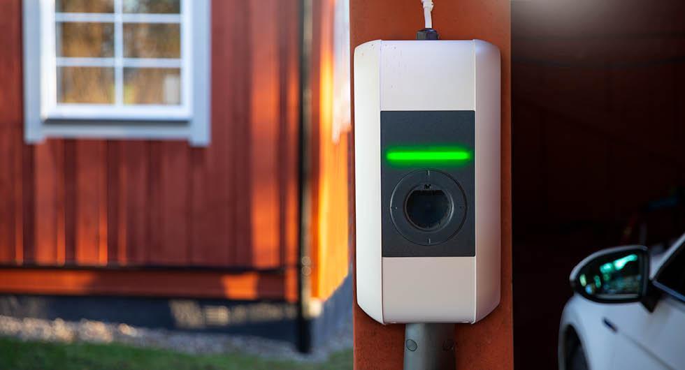 Nytt bidrag för elbilsladdning på gång