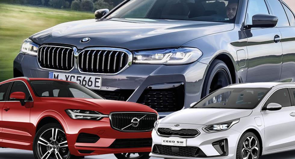 Så mycket skiljer miljöbonusen – för samma bilmodell