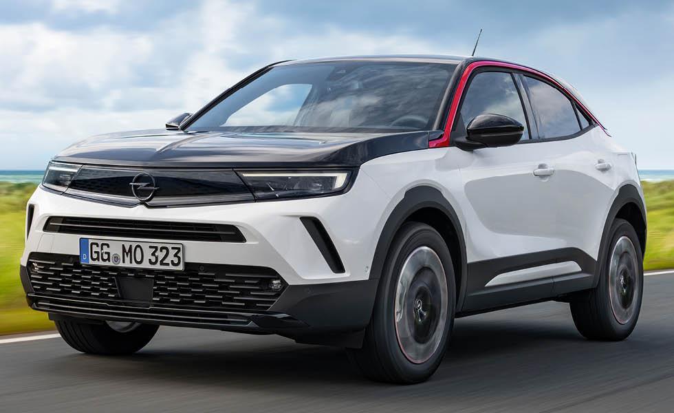 Fler detaljer om Opel Mokka – nu med bensin- och dieselmotor