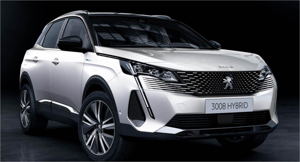 Officiell: Peugeot 3008 uppdateras med ny design