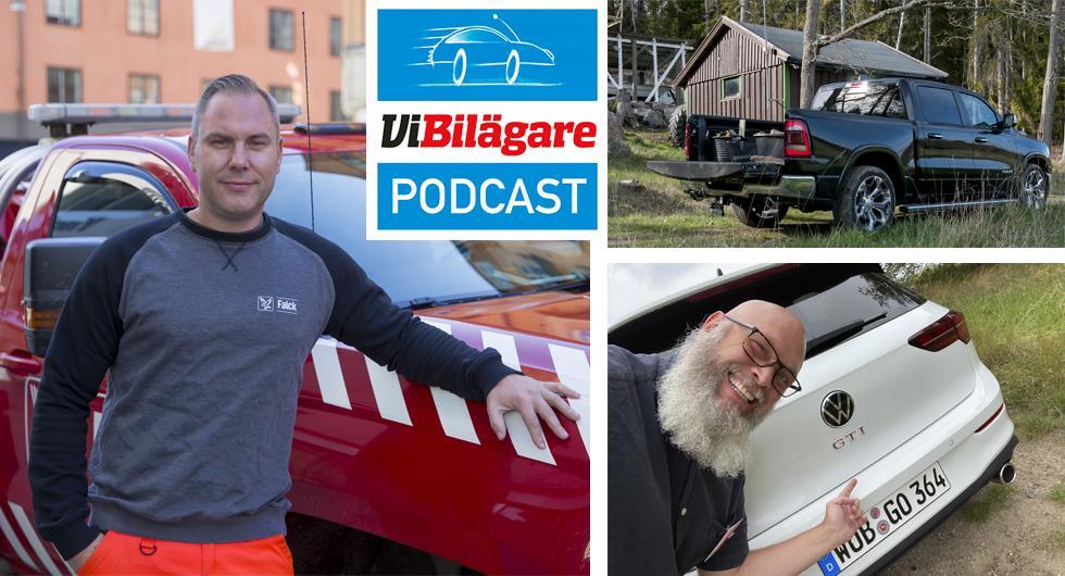 En bärgares berättelser, Volkswagen Golf GTI och RAM 1500