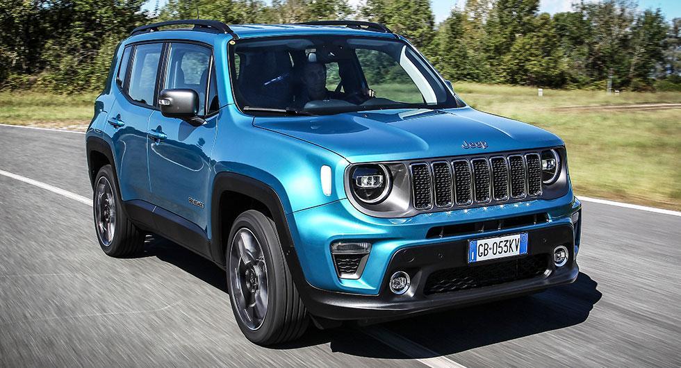 Jeep Renegade finns nu som laddhybdrid med räckvidd på strax över fyra mil.