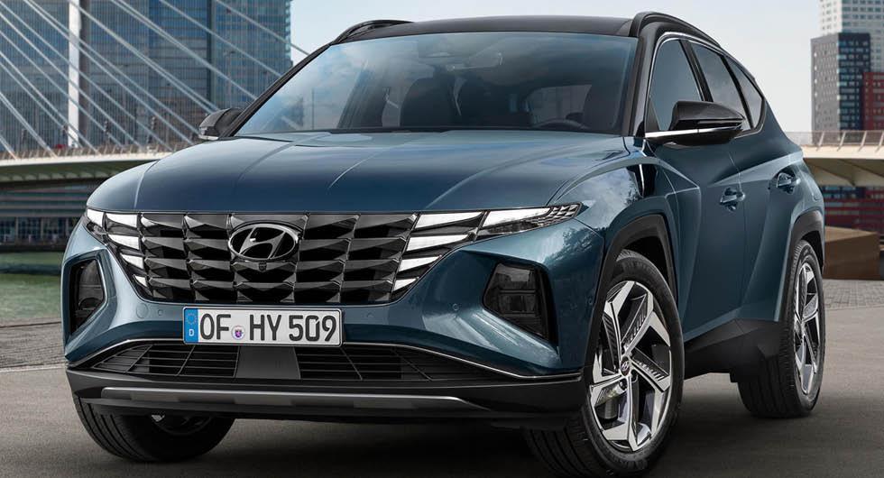 Premiär: Hyundai Tucson med ny design och flera hybrider