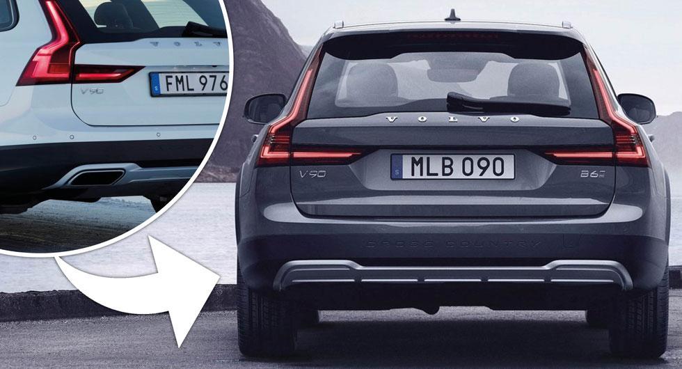 """Nu försvinner Volvos synliga avgasrör: """"Behövs inte"""""""