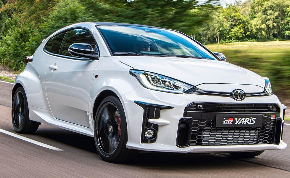 """Nu börjar Toyota bygga """"kompaktraketen"""" GR Yaris"""