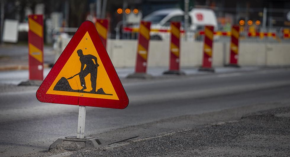 Bilfrågan: Komplettera med utfällbart gupp vid vägarbete?