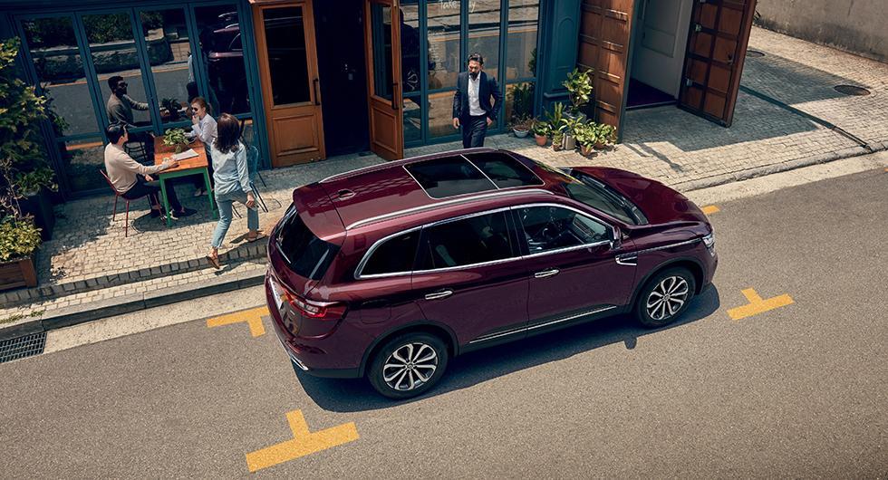 Renault Koleos med sin tjänstevikt på drygt 1.700 kilo slipper viktbeskattning.