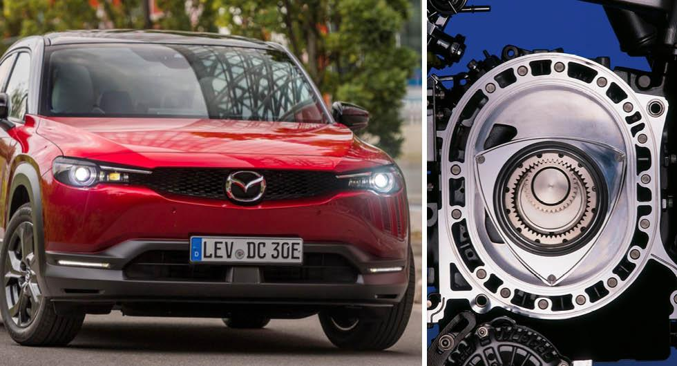 Bekräftat: Mazdas wankelmotor gör comeback – i elbilen