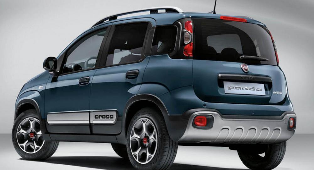 Fiat Panda uppdateras med sportpaket och tekniknyheter
