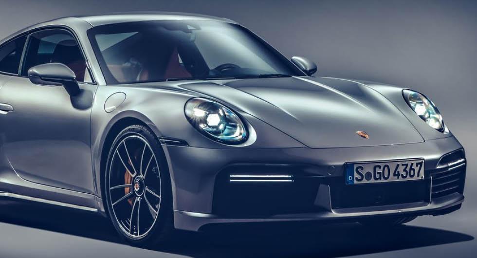 Bilden visar Porsche 911 Turbo S, inte någon av versionerna som nämns i artikeln.
