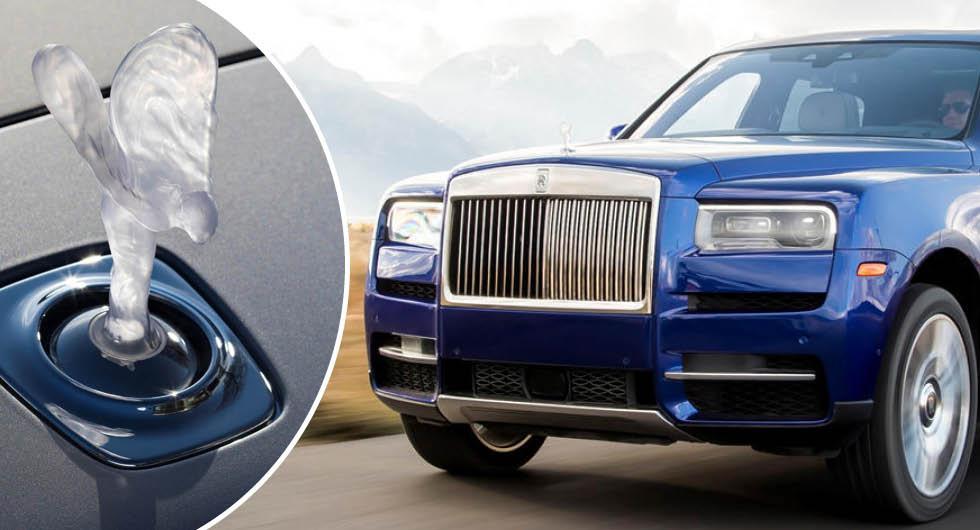 Rolls-Royce tvingas sluta sälja belyst kylarprydnad