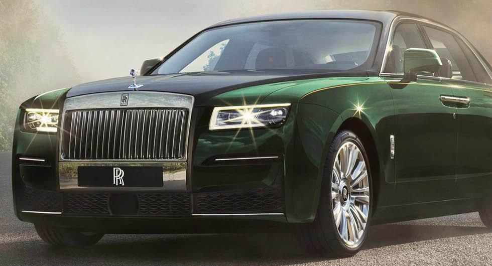 Rolls-Royce Ghost för tyst – passagerarna blev åksjuka
