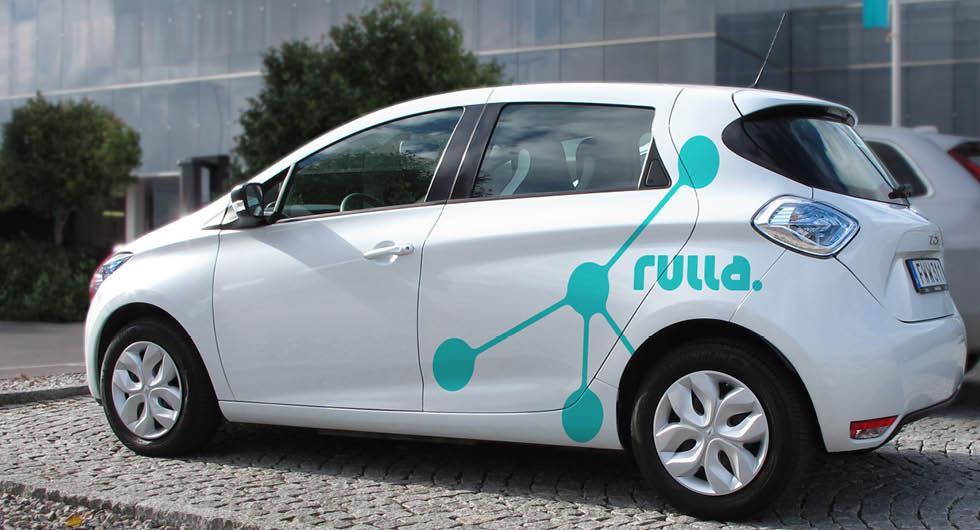 Nu startar bildelningstjänsten Rulla – fyra städer först ut