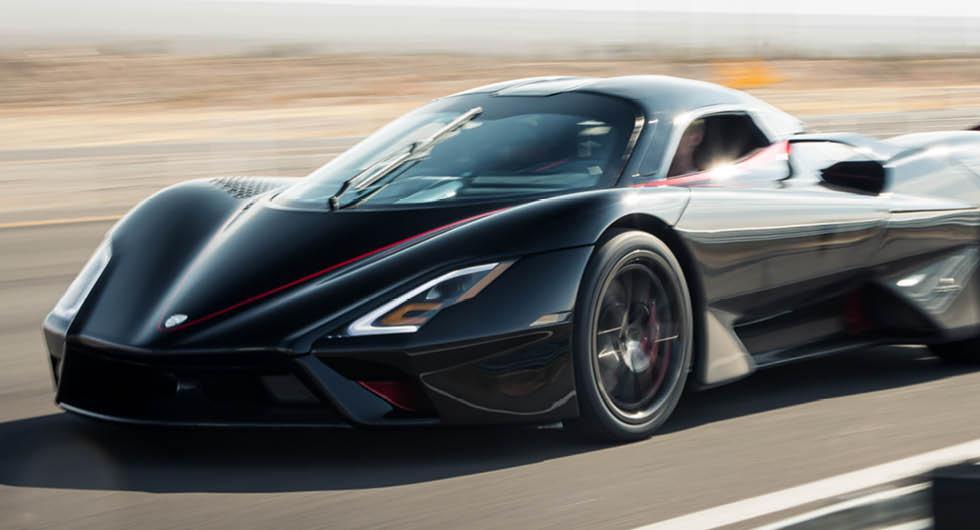 SSC Tuatara snuvar Koenigsegg och Bugatti på toppfartsrekordet