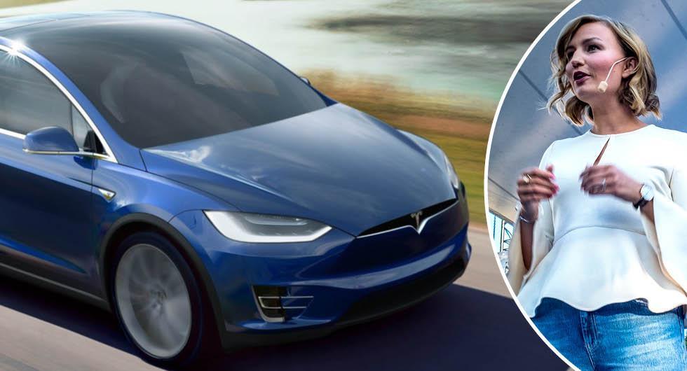 KD-ledarens försvar efter elbilsutspelet: Familjer kräver en Tesla Model X