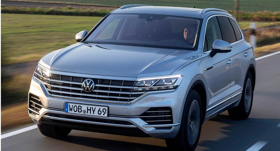 Volkswagen visar Touareg eHybrid – som svenska köpare blir utan
