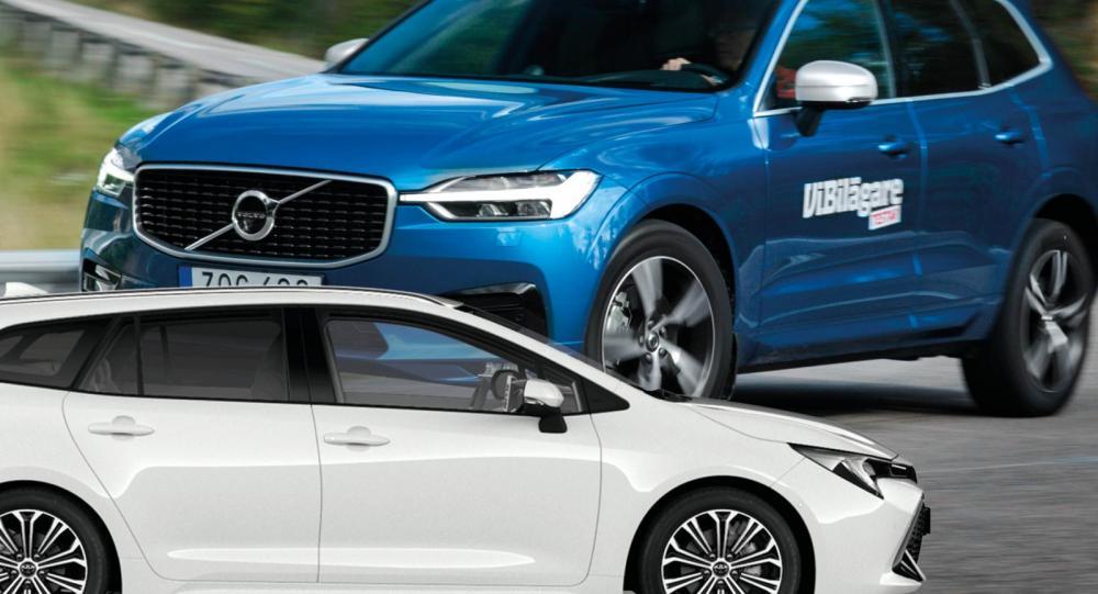 Volvo kör om Toyota – hyllas i ny utsläppsrapport