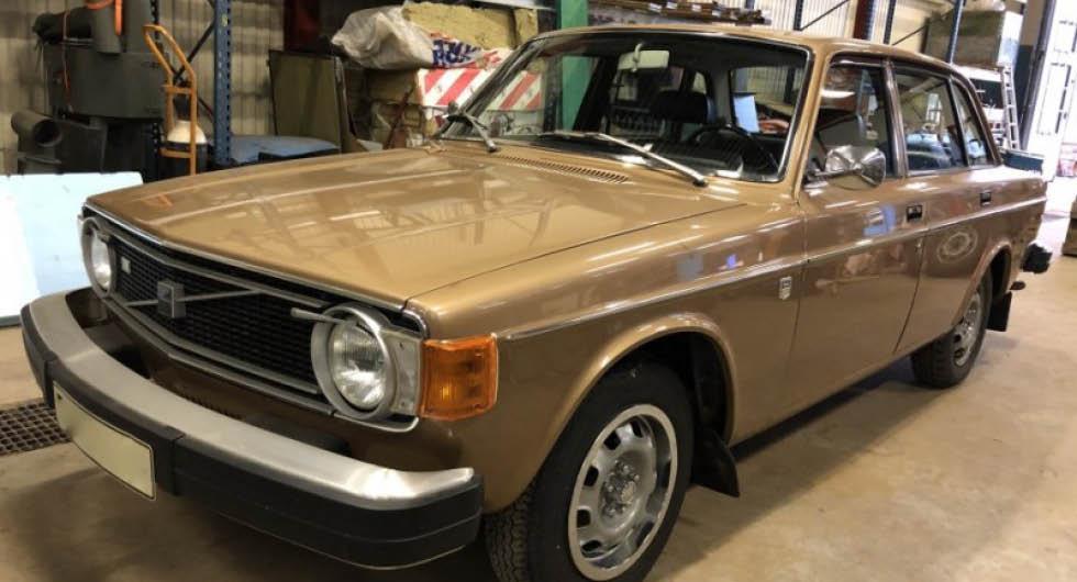 Osliten Volvo säljs på auktion – med 3 190 mil på mätaren