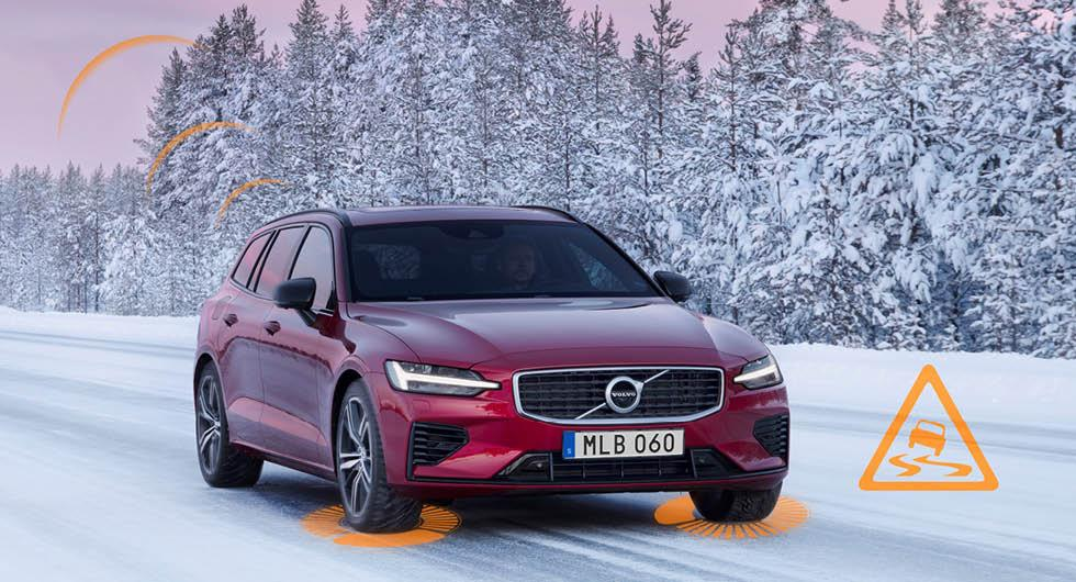 Trafikdata från Volvo ska ge bättre halkbekämpning