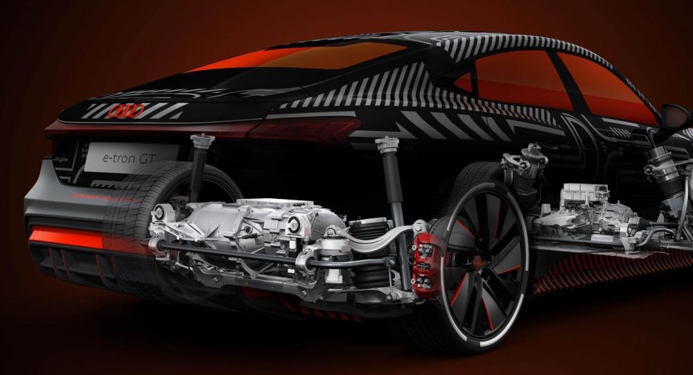 Fler detaljer om Audi RS e-tron GT – så snabb blir toppmodellen