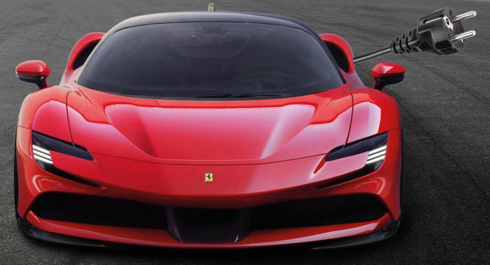 """Ferrari backar: """"100 procent eldrift är att gå för långt"""""""