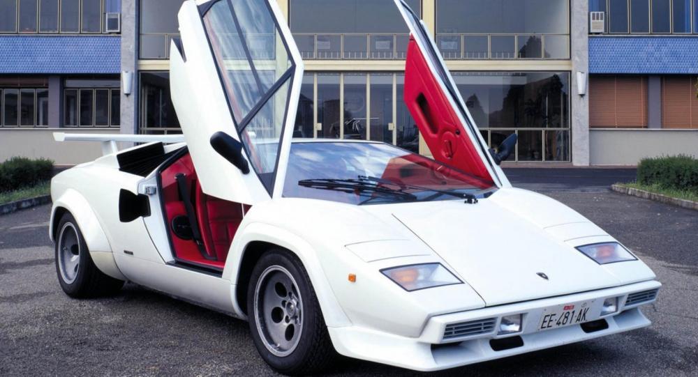 Lamborghini Countach – ett fartvidunder med rymdkänsla
